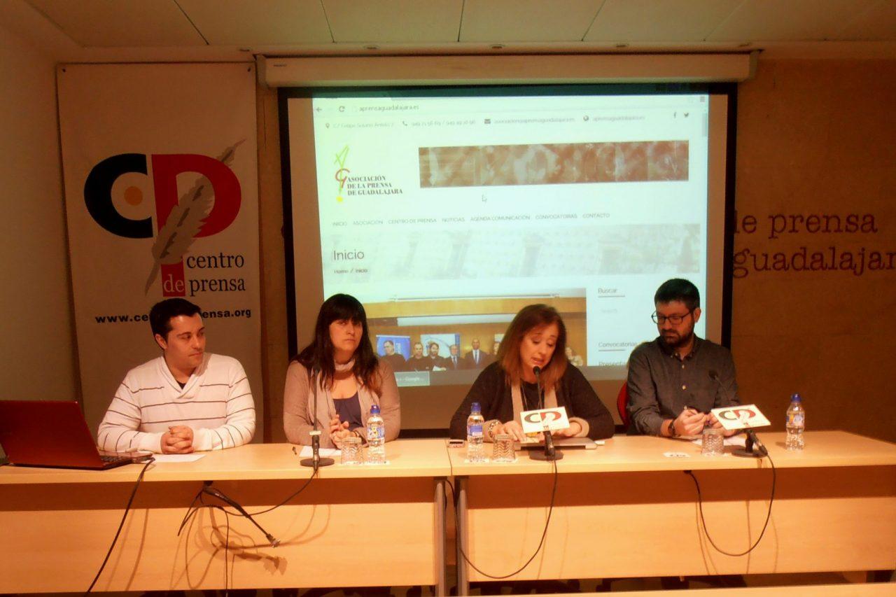 La Asociación de la Prensa presenta su nueva página web