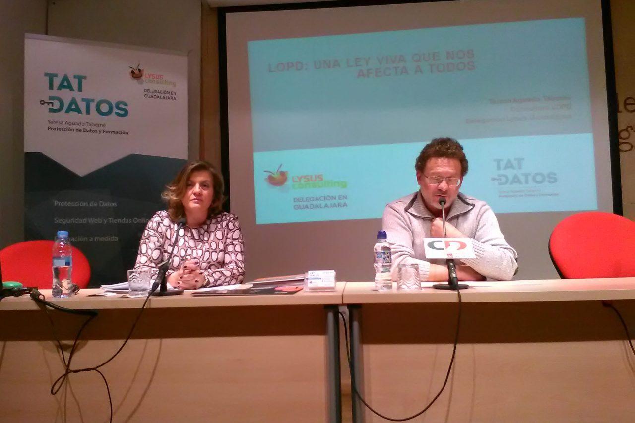 """Los socios participan en la jornada formativa sobre """"Protección de Datos"""""""