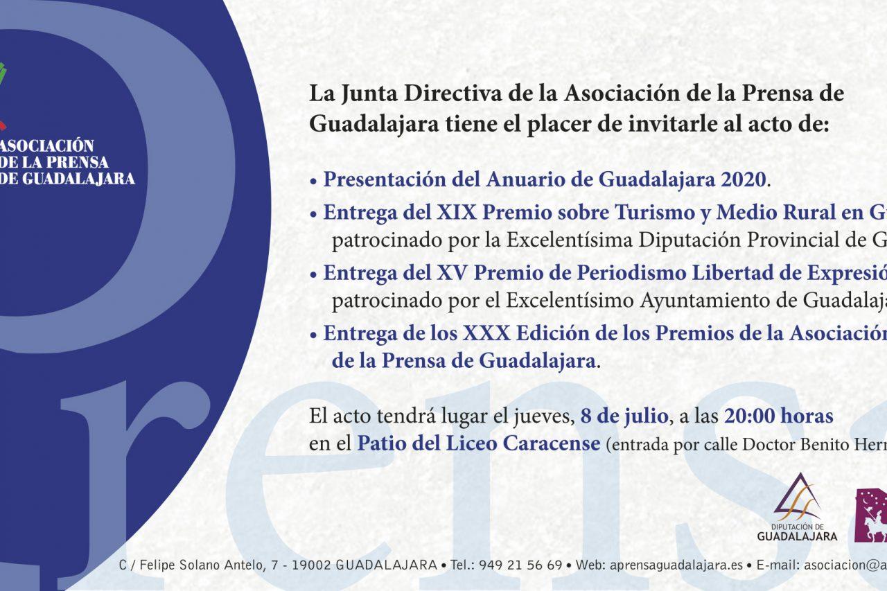 La Asociación de la Prensa presenta una nueva edición del Anuario de Guadalajara